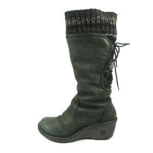 Ugg Skylair Leather Wedge Boots
